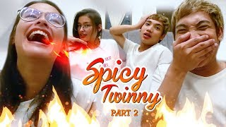 Spicy Noodle Challenge PART 2 with Liza Soberano  | Finding Milo