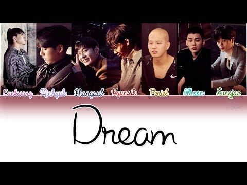 BTOB (비투비) - DREAM (꿈에)  Lyrics (Color Coded/ENG/ROM/HAN)