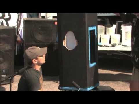 Jared Ashley Band Refinishes Speaker Cabinets with DuraTex