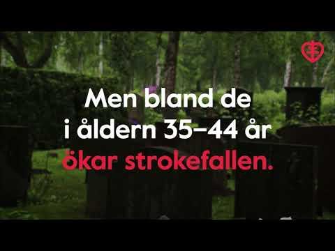 Hur vanligt är stroke?