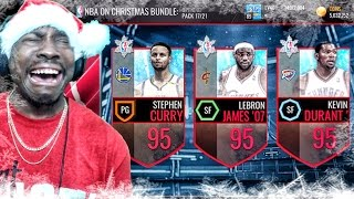 OMG GHOST OF CHRISTMAS PACK OPENING & ELITE PRESENTS! NBA Live Mobile 16 Gameplay Ep. 54