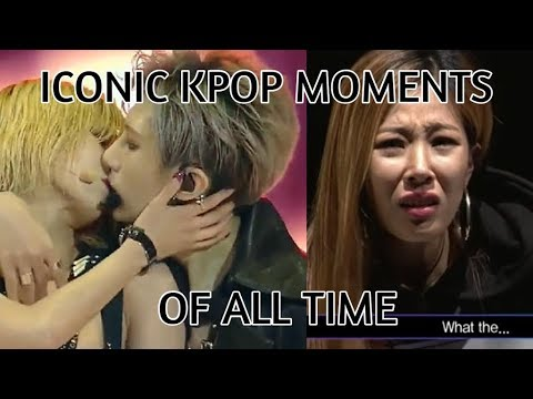The most iconic kpop videos of all time! (funny/legendary moments!)