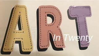 Art in Twenty #3 | Collage Play
