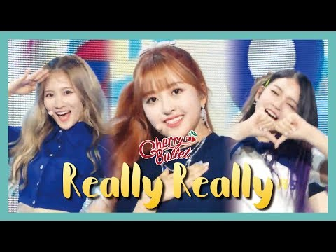 [HOT] Cherry Bullet - Really Really , 체리블렛 - 네가 참 좋아 Show Music core 20190601