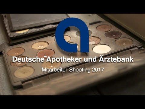 Mitarbeiter repräsentieren die apoBank - Making of 2017