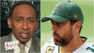 'We should be very disappointed in Aaron Rodgers' - Stephen A. | First Take