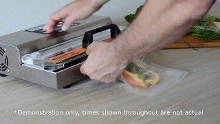Pac Food VS305 Semi Commercial Vacuum Sealer