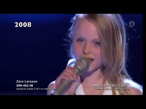Zara Larsson's voice through the years (2008-2016)