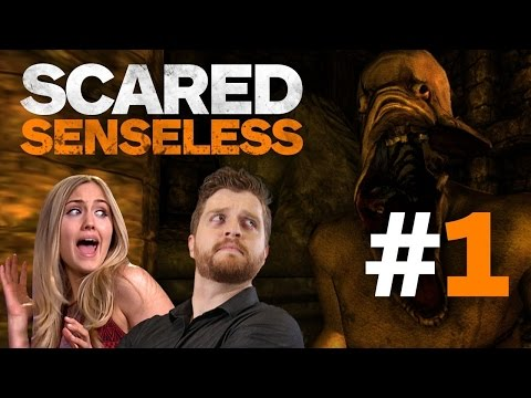 Amnesia: Reactions to Ghosts, Boogymen, and Going INSANE - Scared Senseless Episode 1