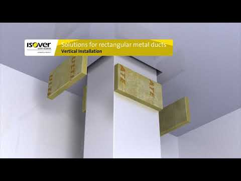 ISOVER ULTIMATE U Protect: Fire safety without compromise. Solutions for rectangular metal ducts