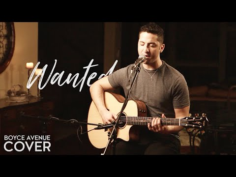Wanted - Hunter Hayes (Boyce Avenue acoustic cover) on Spotify & Apple