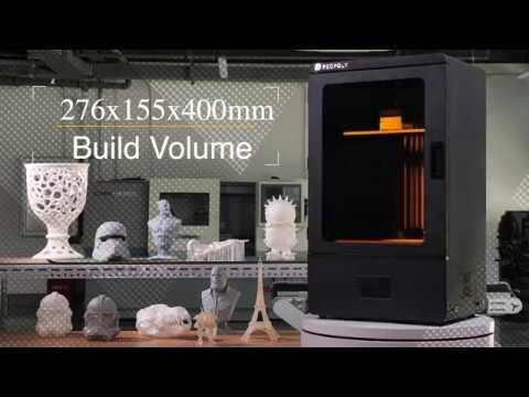 video Peopoly Phenom 3D Printer