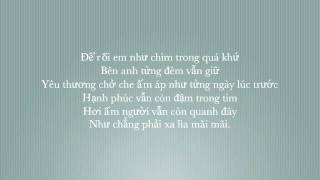 [HD] Sống Trong Quá Khứ - Bảo Thy [+lyrics & vsub]