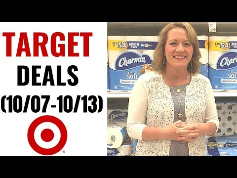 TARGET COUPONING VIDEO (10/07-10/13) FREE RAZORS, Grocery, Hair Color, Household, Baby Care & More!