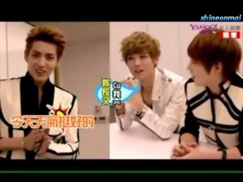 (Eng Sub) EXO-M Kris Self Introduction - 121119 Yahoo 奇摩名人娛樂