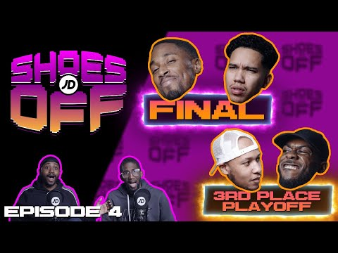 jdsports.co.uk & JD Sports Promo Code video: THE FINAL IS HERE! CRAIG VS MILES | WHO IS THE LOSER? MARGS VS LIPPY | SHOES OFF WITH SPECS & SHARKY
