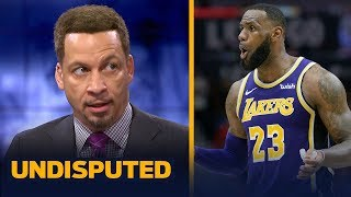 Chris Broussard is 'disappointed' in LeBron's comments about his Lakers teammates | NBA | UNDISPUTED