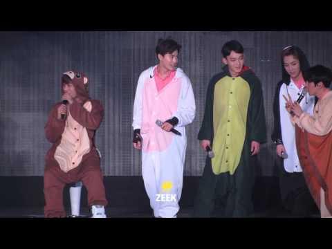 160320 The EXO'luXion Dot 동물잠옷 댄스릴레이!