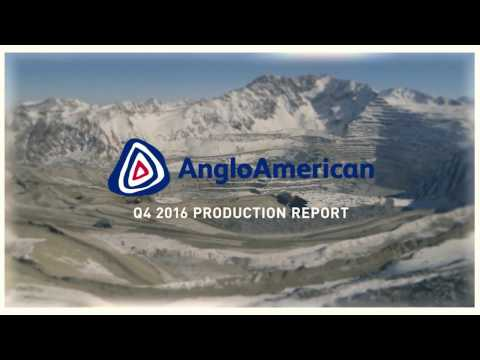 Anglo American - Q4 2016 Production Report