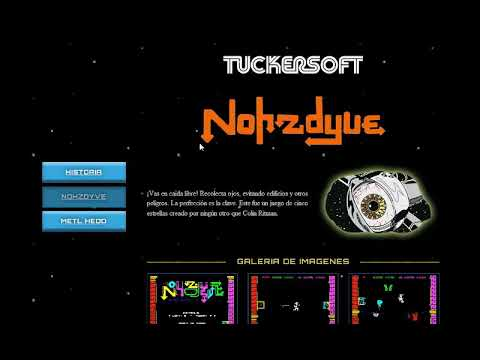 Canal Homebrew: Nohzdyve (Tuckersoft) juego basado en Black Mirror: Bandersnatch