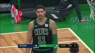 Enes Kanter Full Play vs New Orleans Pelicans | 01/11/20 | Smart Highlights