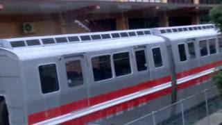 2008年12月に廃線となった名鉄モンキーパークモノレール線 保存車両