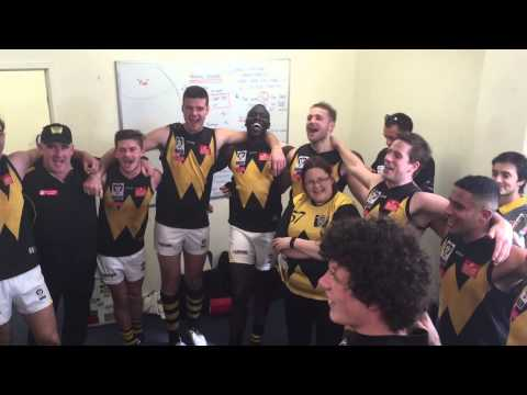 Rd 19 v Williamstown Dev - Players Sing the Song