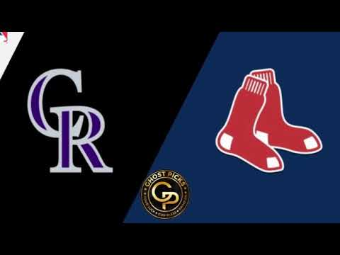 MLB Colorado Rockies vs Boston Red Sox Prediction 5/15/2019