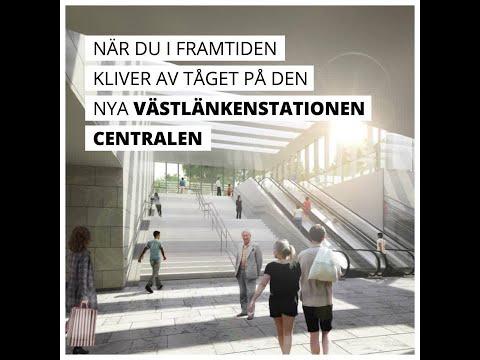 Den nya tågstationen vid Centralen