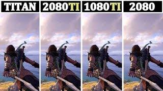 TITAN RTX vs RTX 2080TI vs GTX 1080TI vs RTX 2080   Tested 13 Games  