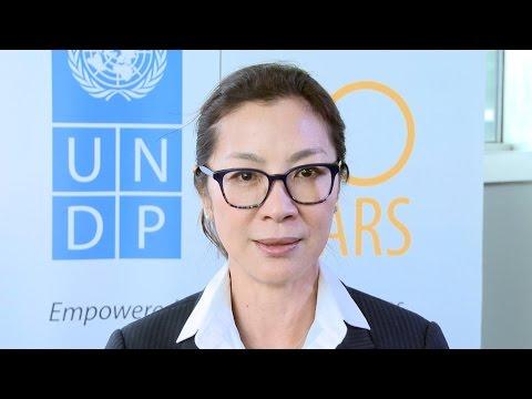Michelle Yeoh à propos du Sommet humanitaire mondial