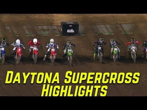 Daytona Supercross Highlights - Motocross Action Magazine