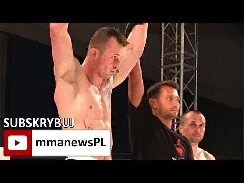 """Piotr Poniedziałek po znokautowaniu Andrei'a Zaksheuskiego: """"Cały czas kontrolowałem walkę."""""""