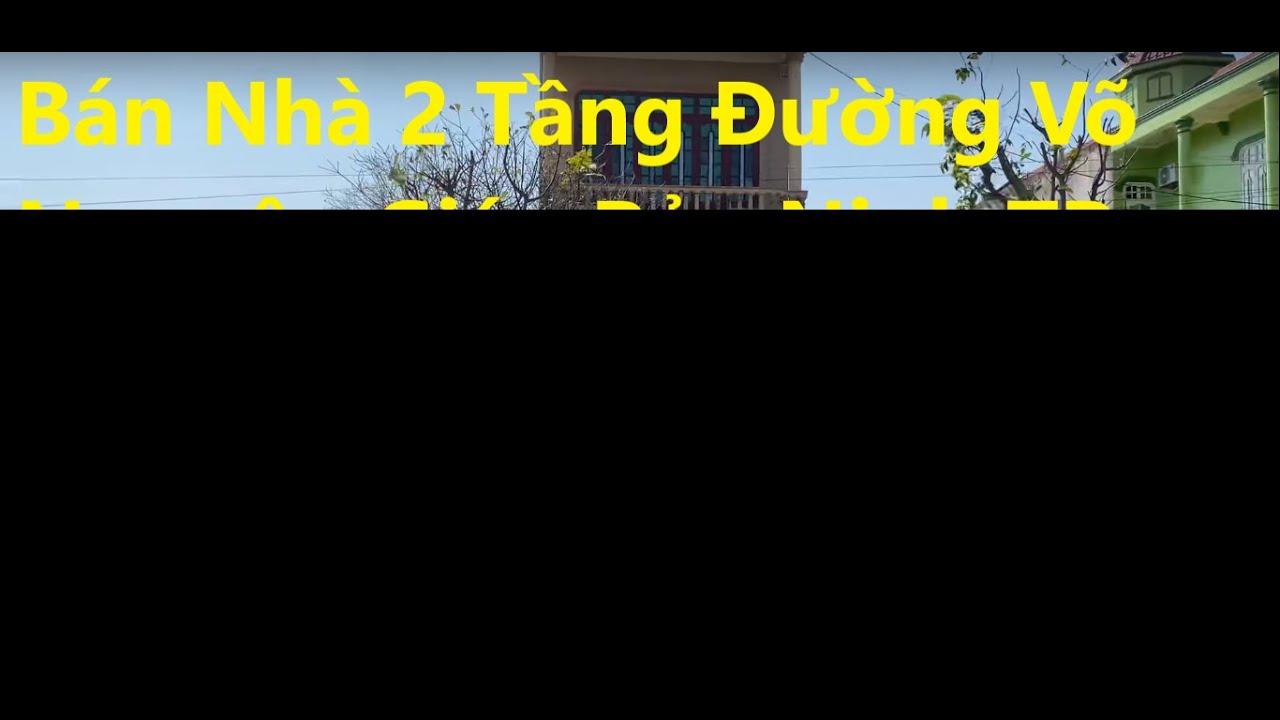 Bán nhà 2 tầng đường Võ Nguyên Giáp, Mỹ Cảnh, Bảo Ninh TP Đồng Hới, đối diện Sunspa Resort video