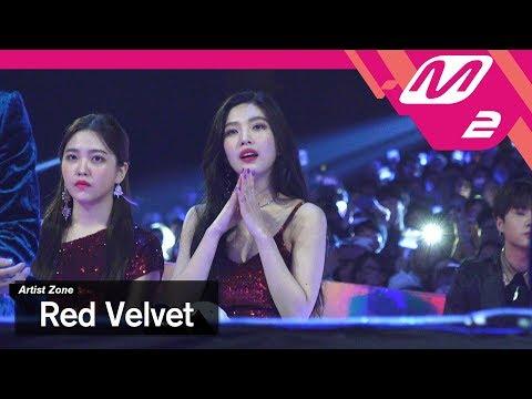 (미공개) [2017MAMA x M2] 레드벨벳 Reaction to 워너원's Performance