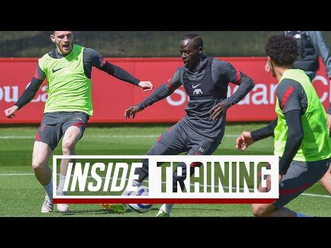 Inside Training: Shooting drills, stunning Shaqiri volley & skills in the rondos