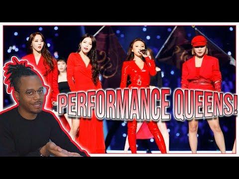 Reacting To MAMAMOO - 2018 MAMA Performances | 👨🦲🤰
