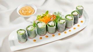 Món Ngon Mỗi Ngày - Cuốn cá lóc xốt đậu phộng