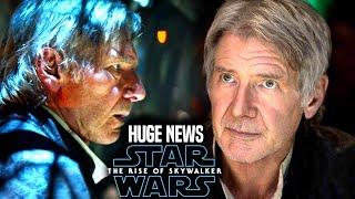 Harrison Ford HUGE News Revealed! The Rise Of Skywalker (Star Wars Episode 9)