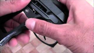 DIY: Switch the magazine release on a Beretta 92/96