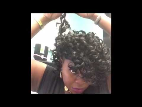 Tutorial Curly Quick Weave Cap Videomoviles Com