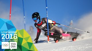 Alpine Combined - River Radamus (USA) wins Men's gold | Lillehammer 2016 Youth Olympic Games