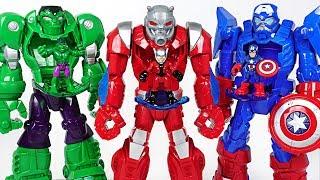 Marvel Ant-Man Mech Armor suit! Crush Thanos, dinosaurs and help Hulk, Spider Man! - DuDuPopTOY