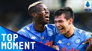 Victor Osimhen Scores First Ever Napoli Goal!   Napoli 4-1 Atalanta   Top Moment   Serie A TIM