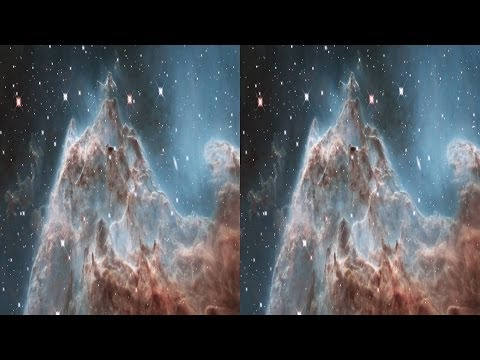 Evaporating Peaks 3D: Pillars in the Monkey Head Nebula - Hubble Site
