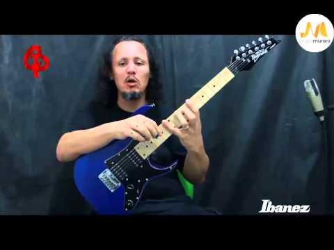 Ibanez GRGM21M-MPL 3/4 Mikro Electric Guitar (Metallic Purple)