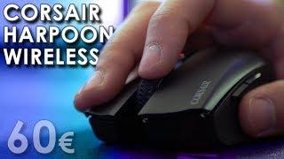 Vidéo-Test : Corsair Harpoon RGB Wireless | TEST | Du sans-fil à moins de 60? !