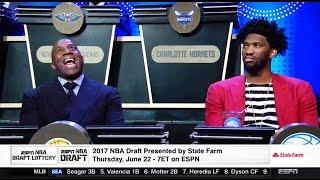 2017 NBA Draft Lottery RESULTS!