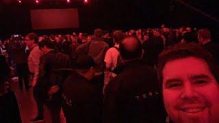 Tesla Model Y Pre Unveiling Event