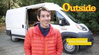 An Inside Look at Alex Honnold's Adventure Van | Outside